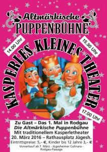 Kasperle Plakat Rodgau